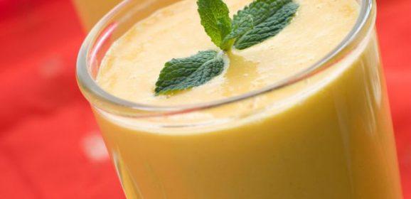 Receta de lassi de mango, bebida exótica de India y Pakistán