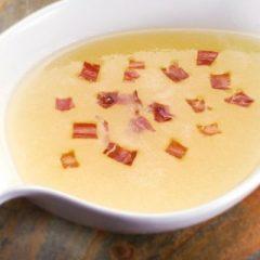 Receta de crema fría de melón y pimiento rojo para bajar de peso