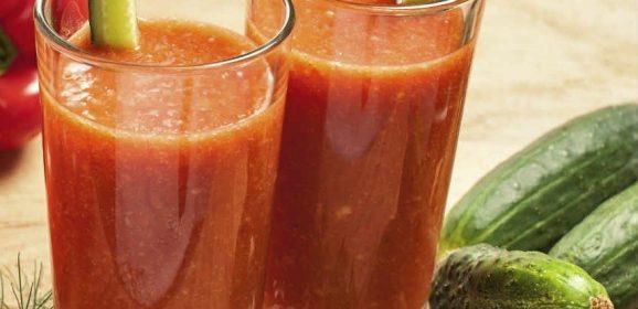 Receta de un jugo bajo en calorías para bajar de peso