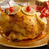Receta de pollo a la mantequilla con vino